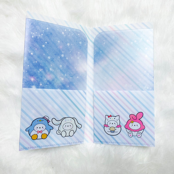 Hobo Weeks Sticker Folder : Cutie Patootie Storage Folder (Holo Silver Foiled)