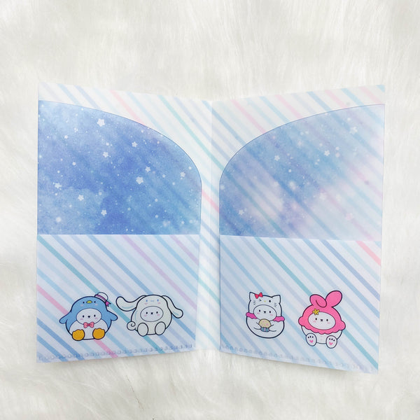 Regular Sticker Folder : Cutie Patootie Storage Folder (Holo Silver Foiled)