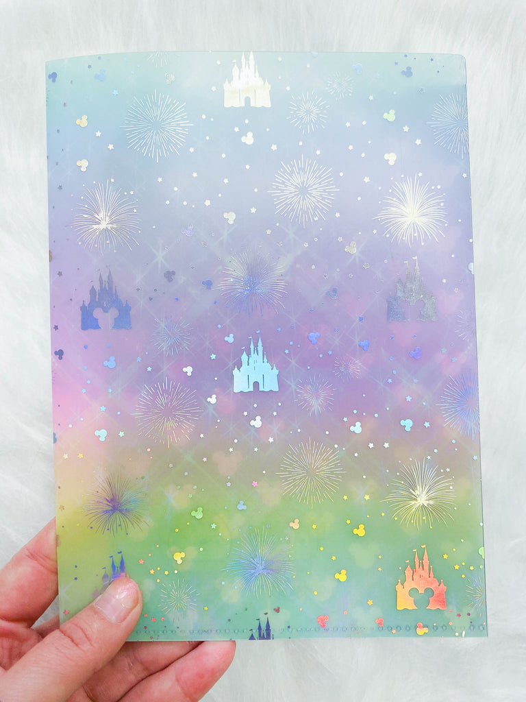 Jumbo Sticker Folder : Magic Castle Storage Folder (Holo Silver Foiled)