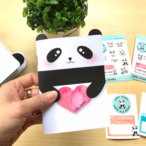 Planner Sticker : Plum Plum The Panda Sticker Book V1