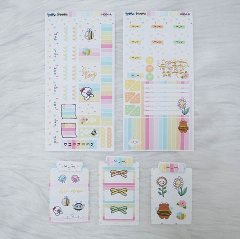 Hobonichi Weeks Sticker Kit - Bee-You-Tiful // H004