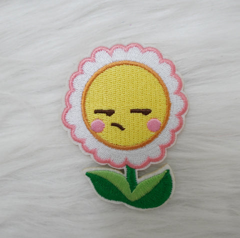Fabric Patch : Bee-YOU-tiful // Side Eye Flower