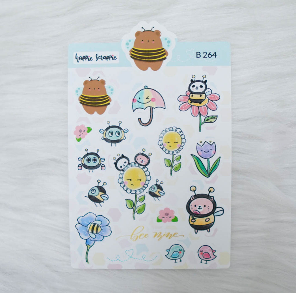 Planner Stickers : Bee-YOU-tiful- Elements 2 (B264)