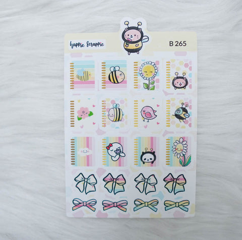 Planner Stickers : Bee-YOU-tiful- Planners (B265)
