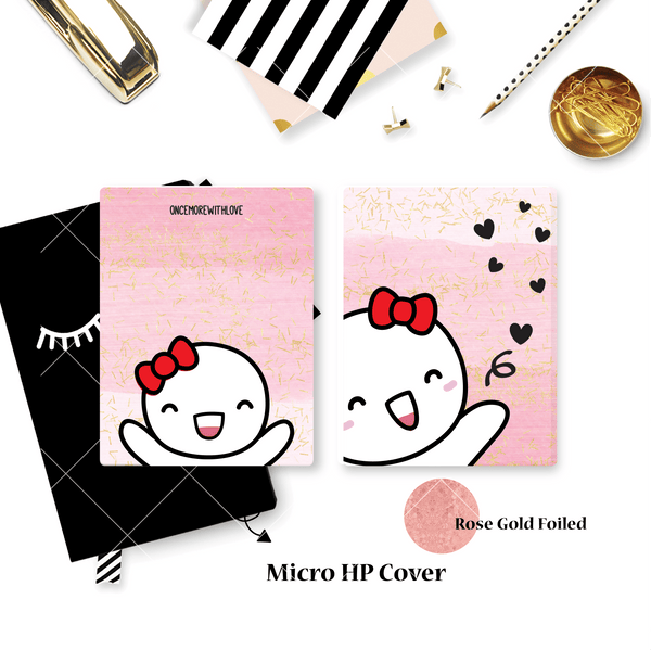 Planner Cover :  Hello Munchkin (Rose Gold Foiled) // OnceMoreWithLove Collab