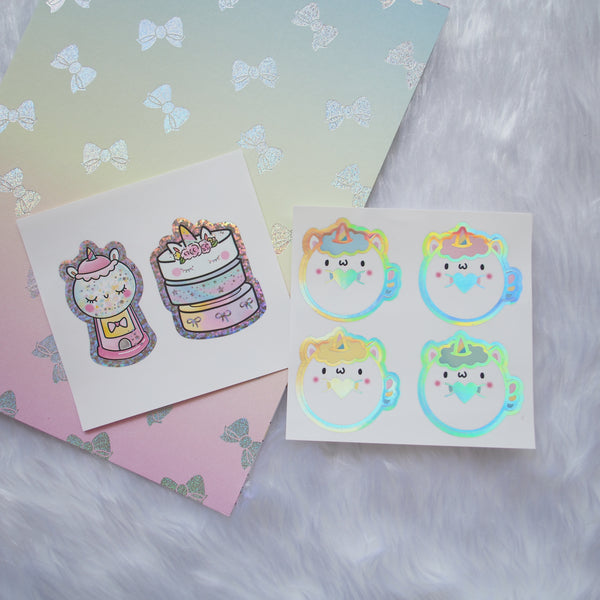 Foiled Seals - Magical Wishes / Unicorn