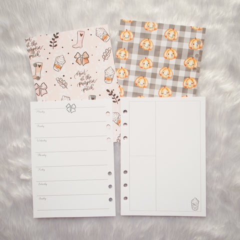 Rings Planner Inserts - Sweater Weather // Weekly