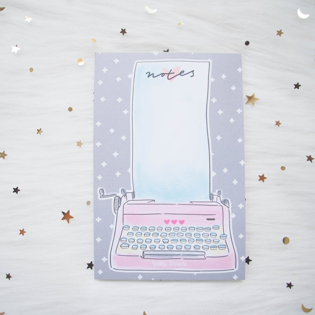 Note Pads : You Are Just My Type (Typewriter)