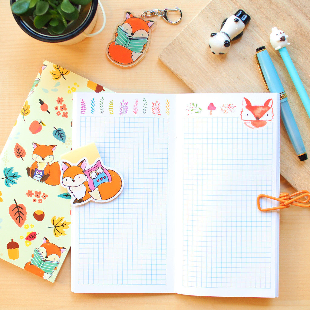 Travel Notebook (TN-Standard) : Hello Foxy