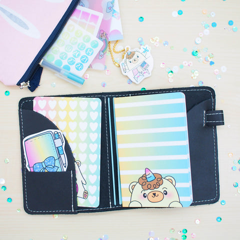 Travel Notebook Inserts (TN-Pocket) - Beariecorn (Dotted)