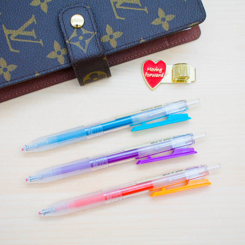 Pens : Muji Gel Ink Pen (Retractable)