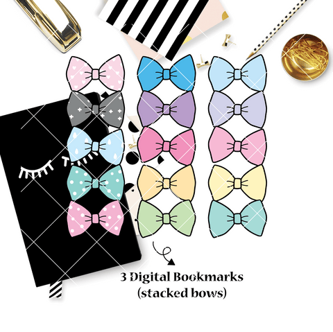 DIGITAL DOWNLOAD! - No Physical Product : You Are Just My Type Themed/ Stacked Bows