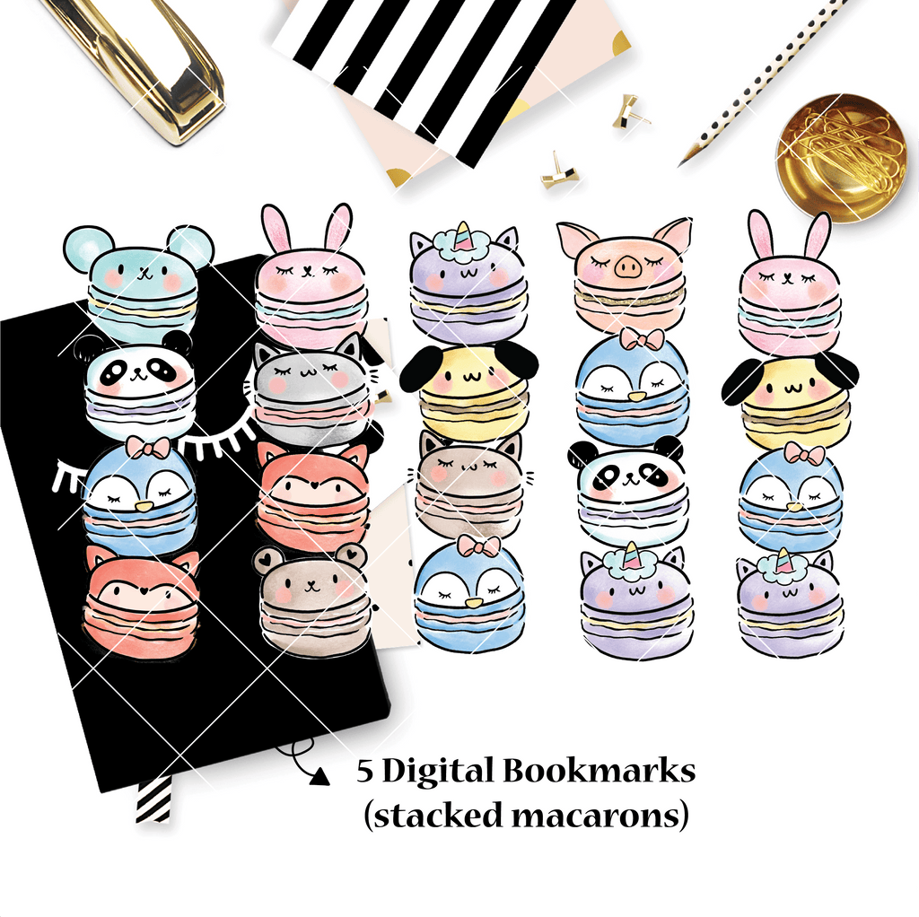 DIGITAL DOWNLOAD! - No Physical Product : You Are Just My Type Themed/ Stacked Macarons