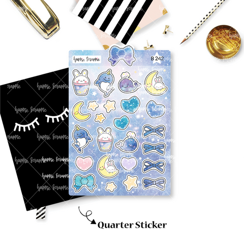 Planner Stickers : Constellation - Elements (B242)