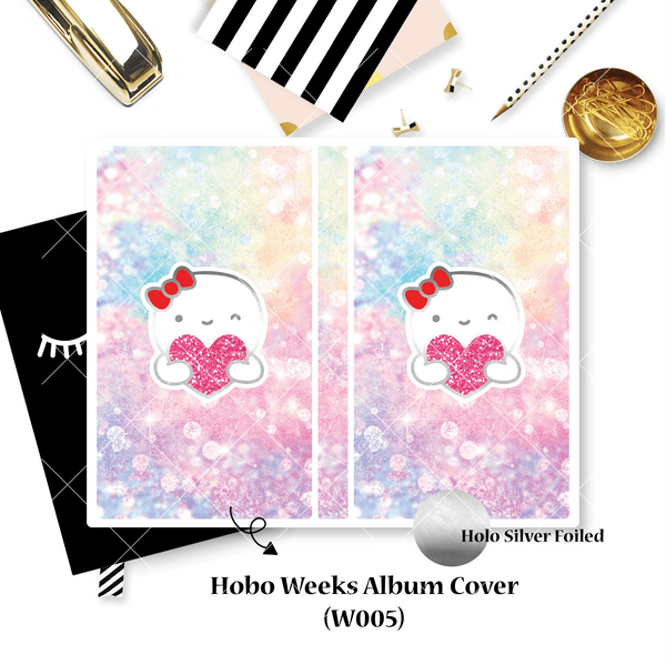 Sticker Album : Hobo Weeks Albums // W005 - Heart Munchkin (Collab With Once More With Love)