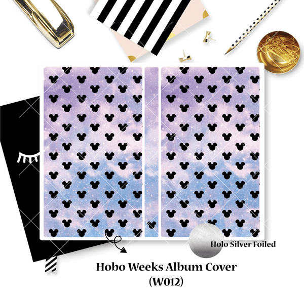 Decal Sticker : Hobo Weeks Albums (Decal only, Not Albums)