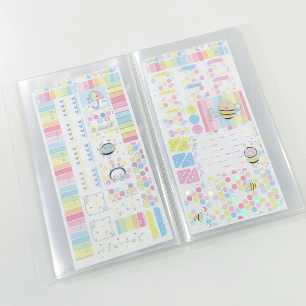 Sticker Album : Hobo Weeks Albums // W012 - Galaxy Magic Mouse
