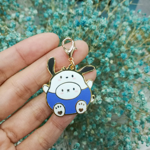 Dangling Charm : Cutie Patootie // Blue Shirt Dog