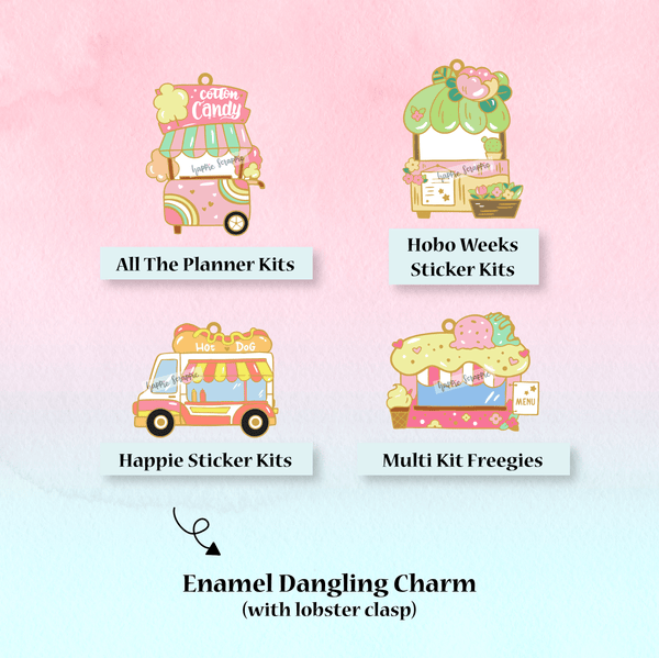 Dangling Charm :  Foodie's Delight // Collab with Molly