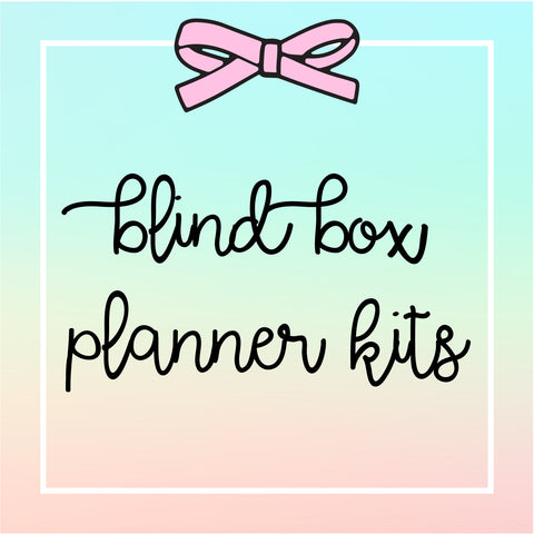USA Only - Blind Box - Happie Planner Kits (Random Sizes)