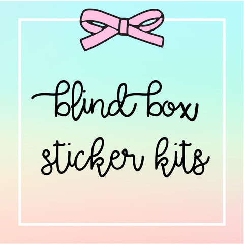 USA Only - Blind Box - Sticker Kits