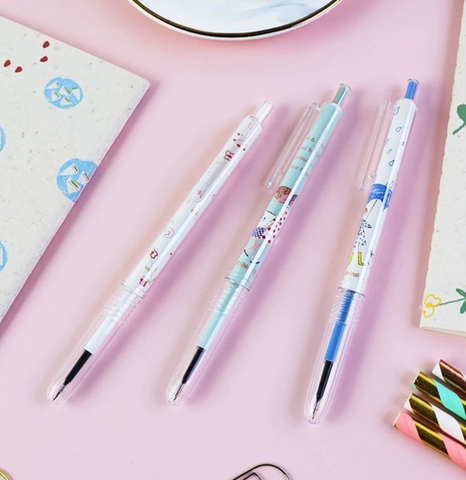 Pens : M&G Shinzi Katoh Girl Retractable Gel Pen