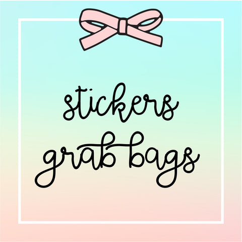 Grab Bags : Overstock Sticker Bag