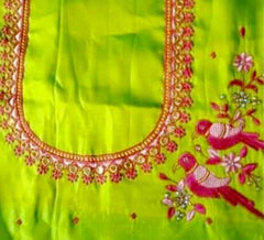 Computer Embroidery Work Blouse Designs