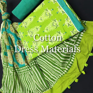 Cotton Dress Materials