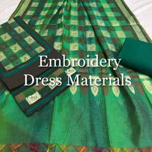 Embroidery Dress Materials