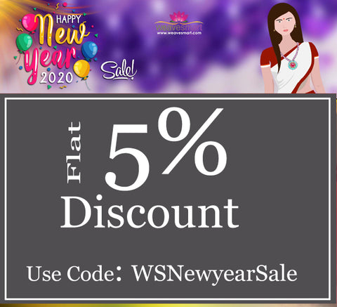 Happy New Year Discount Sale