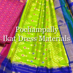 Pochampally Ikat Dress Materials