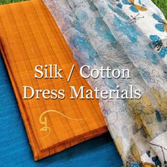 Silk / Cotton Dress Materials