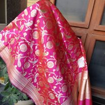 Banarasi handloom and silk dupattas