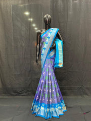 Pochampally Ikat Silk Saree