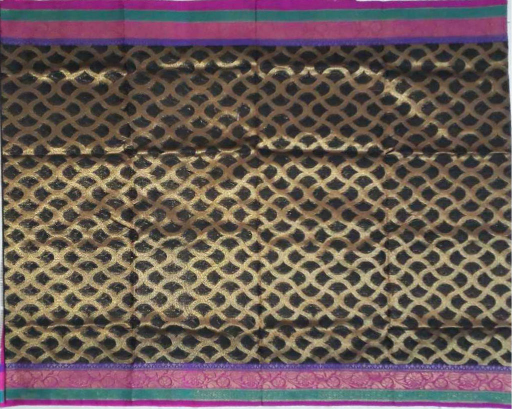 Banaras Art silk / Cotton Saree - fBNR08552
