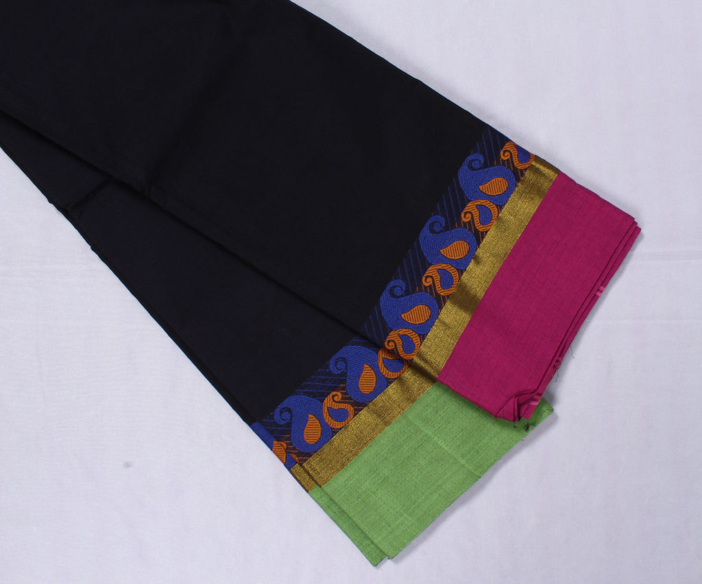 Handloom Kanchipuram Cotton Saree