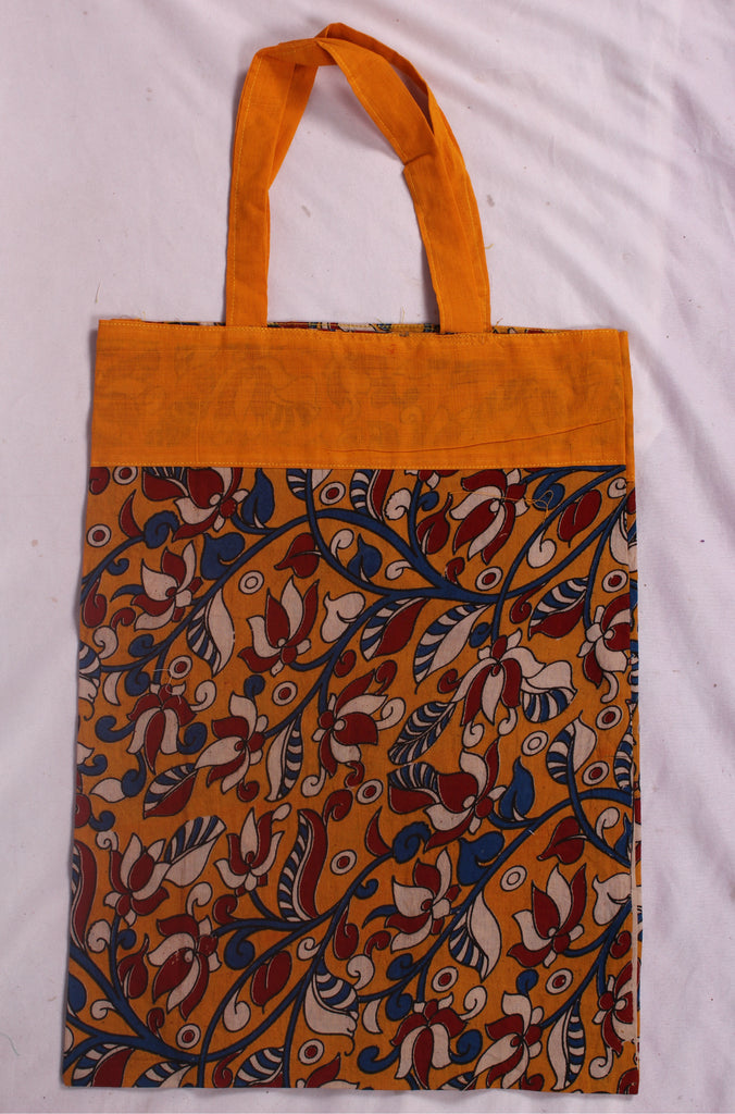 Handloom Kalamkari Cotton Carry Bag