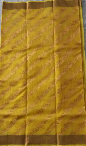 Handloom Kota Doria Silk / Cotton Saree