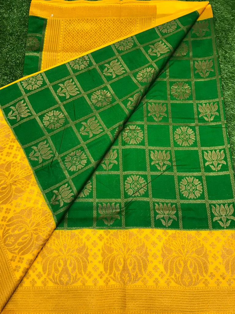 Banaras Semi Dupion Silk Saree