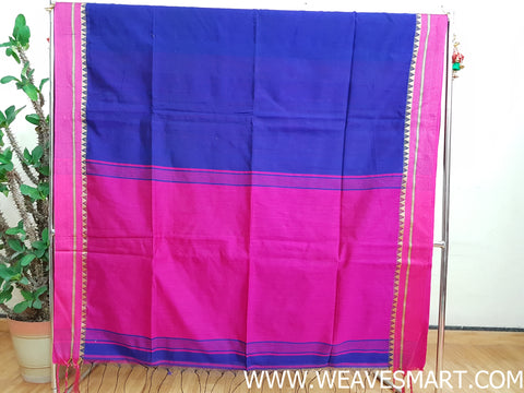 Handloom Bengal Silk/Cotton Saree