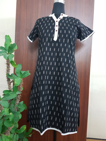 Handloom Pochampally Ikat Cotton Kurti