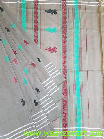 Handloom Siddipet Gollabama Cotton Saree