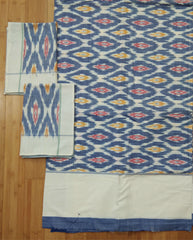 Handloom Pochampally Ikat Cotton Bedsheet