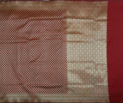 Handloom Banaras Art silk/Semi Georgette Saree