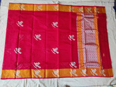 Kota Doria Silk / Cotton Zari Buttas Design Saree With Blouse