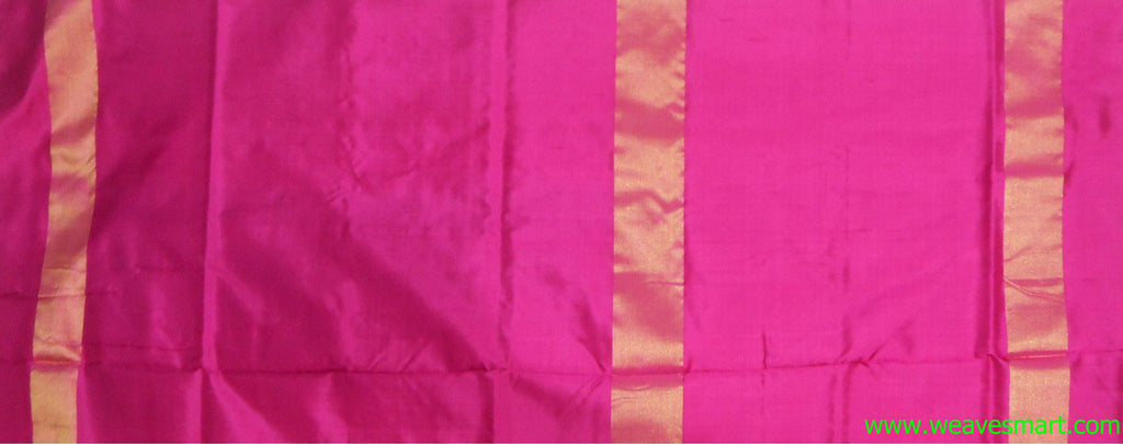 Pochampally Ikat Silk Saree -poc010576 - Weavesmart