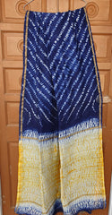 Hand Block Printed Chanderi Silk Saree