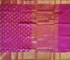Handloom Banaras Art silk/Cotton Saree