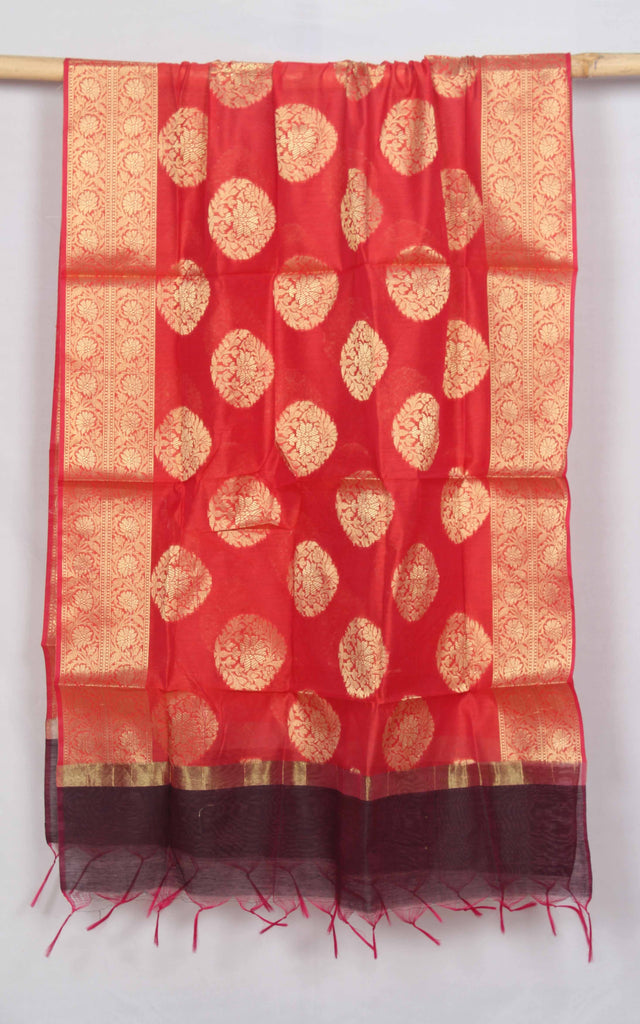 Banaras Art Silk/Cotton Dupatta - fBNRD02168